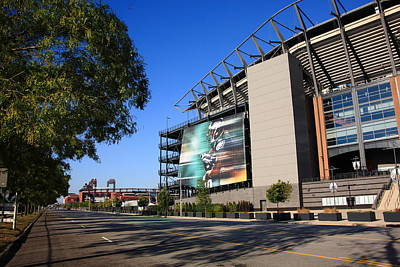 Citizens Bank Park Photograph - Philadelphia Eagles - Lincoln Financial Field by Frank Romeo