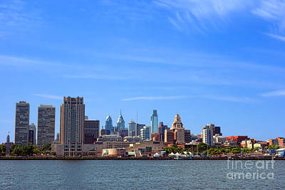 Philadelphia Print by Olivier Le Queinec