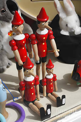 Toy Shop Photograph - Pinocchio by Craig B