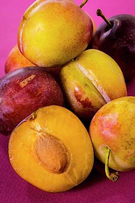 Healthy Eating Photograph - Plums by Aberration Films Ltd