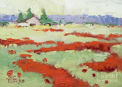 Painting - Poppy Field by Joyce Hicks