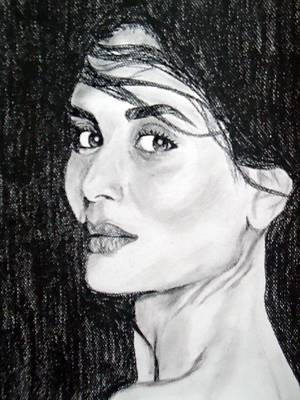Kareena Kapoor Painting - Portrait Drawing by Mahnoor Iqbal