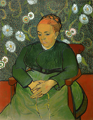 Heavy Woman Painting - Portrait Of Madame Roulin by Mountain Dreams