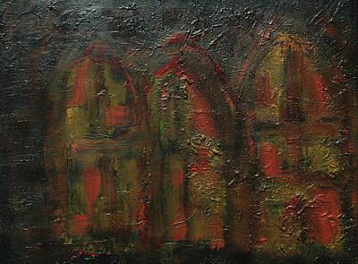 Painting - Postigos by Oscar Penalber