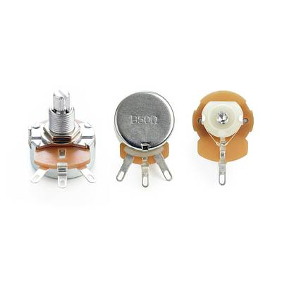 Resistor Photograph - Potentiometers by Science Photo Library
