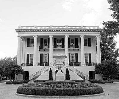 President's Mansion - University Of Alabama Print by Mountain Dreams