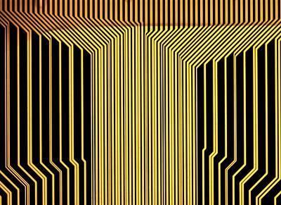 Printed Circuit Print by Alfred Pasieka