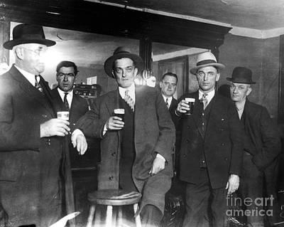Prohibition: Speakeasy Print by Granger