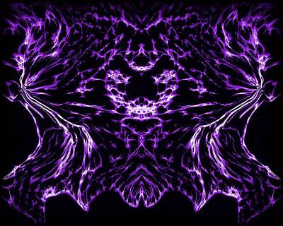 Purple Series 8 Print by J D Owen