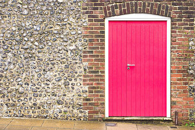 Building Feature Photograph - Red Door by Tom Gowanlock