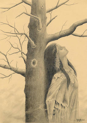 Contemplating Drawing - Reflections by Dino Baiza