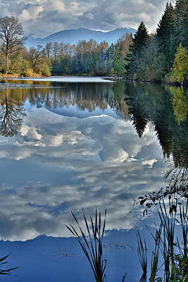 Of Autumn Photograph - Reflections Of Autumn by Mary Jo Allen