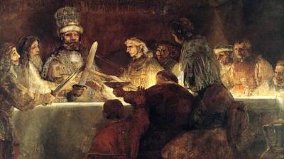 Rembrandt Print by Rembrandt