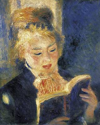 Impressionist Impressionist Photograph - Renoir, Pierre-auguste 1841-1919. Girl by Everett