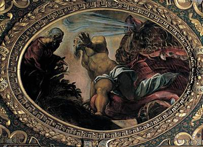Jonah Photograph - Robusti Jacopo Known As Tintoretto by Everett