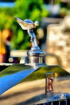 1930 Rolls Royce 20/25 Print by George Atsametakis