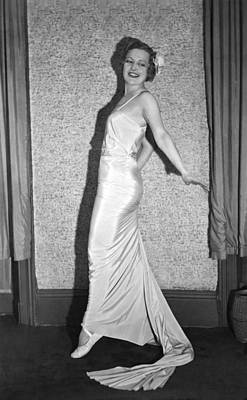 Evening Gown Photograph - Romanian Princess Irene Bogdan by Underwood Archives