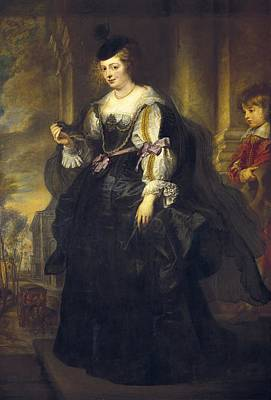Rubens, Peter Paul 1577-1640. Helena Print by Everett