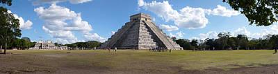 Ancient Civilization Photograph - Ruins Of A Pyramid, Kukulkan Pyramid by Panoramic Images