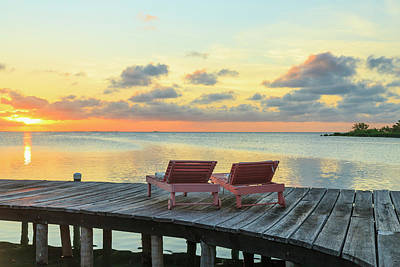 Belize Photograph - Saint Georges Caye Resort, Belize (pr by Stuart Westmorland