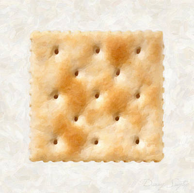 Saltine Cracker Print by Danny Smythe