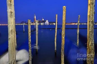 Photograph - San Giorgio Maggiore Church And Gondolas by Sami Sarkis
