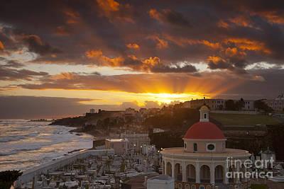 San Juan Sunrise Print by Brian Jannsen