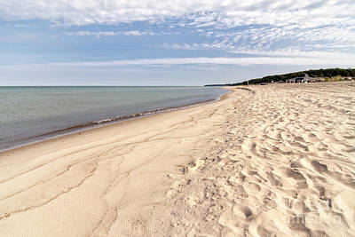 Joesph Photograph - Sandy Beach by Michael Shake