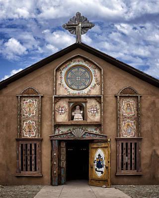 Religious Art Photograph - Santo Nino Chapel  by Nikolyn McDonald