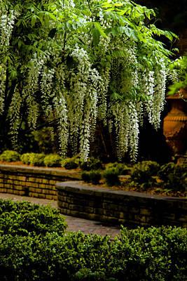 Savannah Courtyard Print by Diana Powell