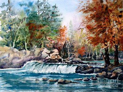 Scenic Falls Original by Mohamed Hirji
