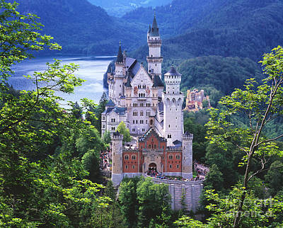 Bavarian Photograph - Schloss Neuschwanstein by Timm Chapman