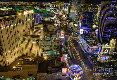 Long Exposure Photograph - Sin City by Eddie Yerkish