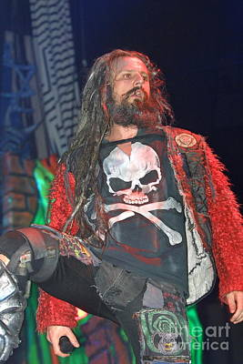 Photograph - Singer Rob Zombie by Concert Photos