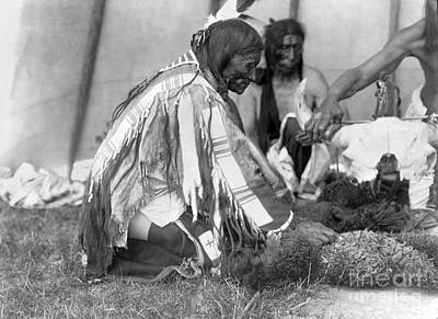 Sioux Medicine Man, C1907 Print by Granger