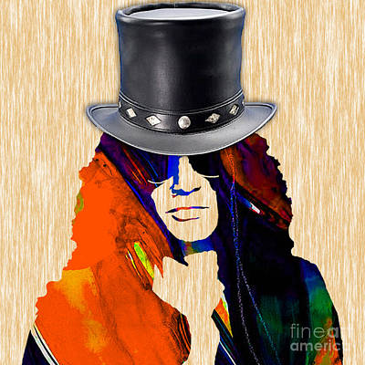 Slash Mixed Media - Slash Collection by Marvin Blaine