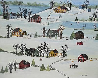 Snow Day Original by Virginia Coyle