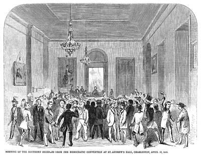 South Carolina Secession Print by Granger