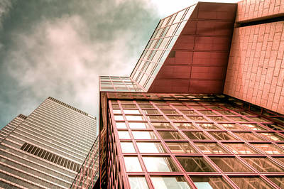 Wolkenkratzer Photograph - Space At Frankfurt by Steffen Gierok