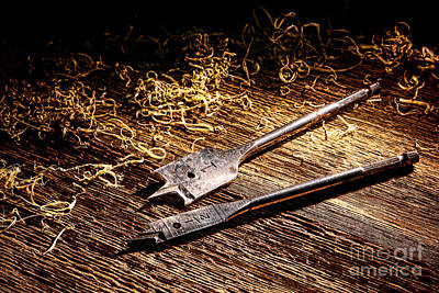 Carpentry Photograph - Spades by Olivier Le Queinec