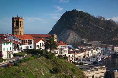 Iglesia Photograph - Spain, Basque Country Region, Guipuzcoa by Walter Bibikow