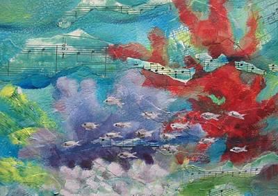 Jeannine Painting - Speed Racing by Jeannine Clesie