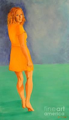 Dagmar Painting - Spring by Dagmar Helbig