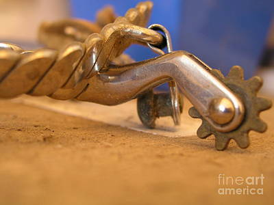 Horse Photograph - Silver Spurs - Photography By Valentina Miletic by Valentina Miletic