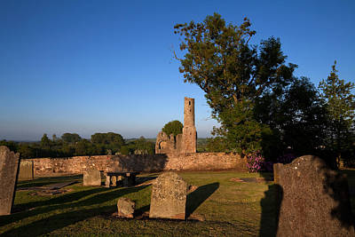 Early Christian Photograph - St Marys Augustinian Abbey, Ferns by Panoramic Images