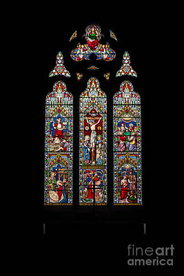 Holy Digital Art - Stained Glass by Adrian Evans