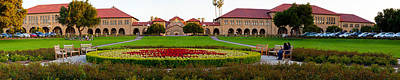 Stanford Photograph - Stanford University Campus, Palo Alto by Panoramic Images
