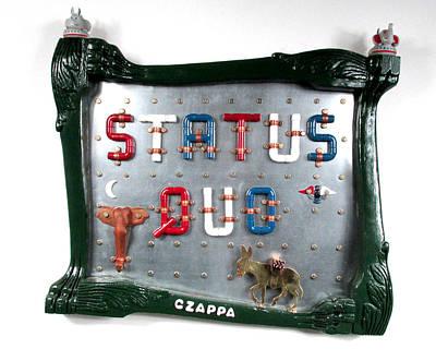 Czappa Sculpture - Status Quo by Bill Czappa