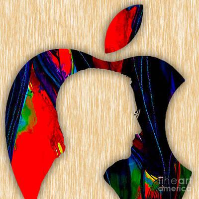 Steve Jobs Print by Marvin Blaine