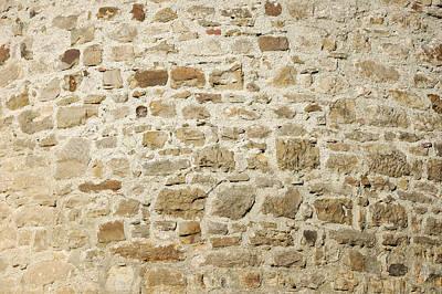 Stone Wall Print by Matthias Hauser